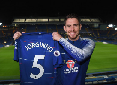 The 26-year-old has signed a five year deal with the London club.