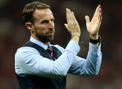 Perspective: England boss Gareth Southgate says he doesn't beat himself up as much after defeats.