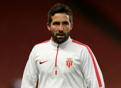 Joao Moutinho, who has joined Wolves from Monaco.