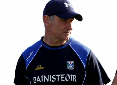 Mattie McGleenan's time in charge ended with a qualifier loss to Tyrone.