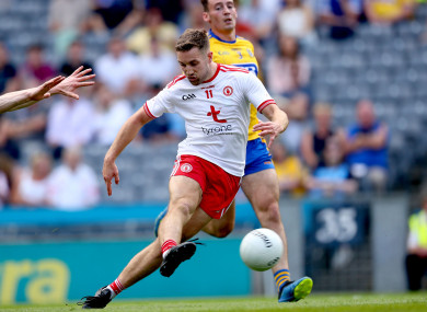 Niall Sludden notched the opening goal of the game.