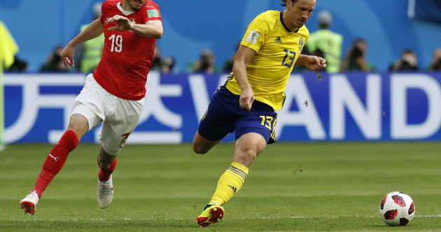 As it happened: Sweden v Switzerland, World Cup last 16