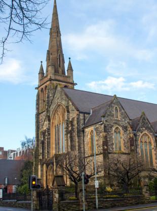 File photo of a church in Belfast