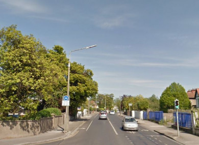 The Howth Road in north Dublin.