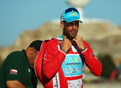 Four-time Grand Tour winner Vincenzo Nibali