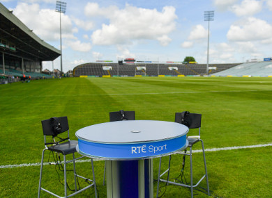 The RTÉ cameras will be in Portlaoise on Saturday.