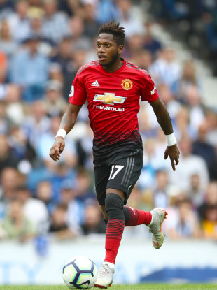 Fred pictured competing against Brighton last weekend.