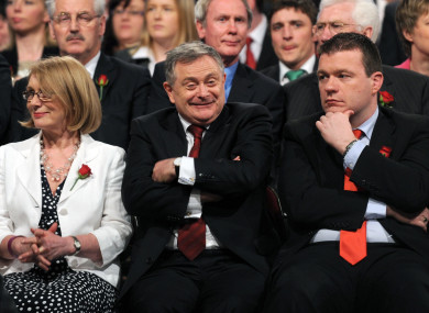 Alan Kelly has thrown his leader down the gauntlet and called for a change of leadership.