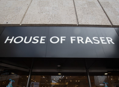 The Strange Ideas Found In Voucher >> House Of Fraser Says It Won T Accept Existing Gift Vouchers In
