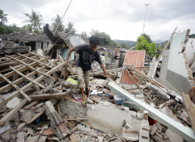 The island of Lombok is reeling from recent quakes.