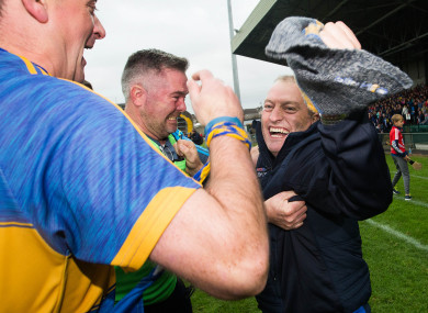 Victorious Tipperary manager Liam Cahill.