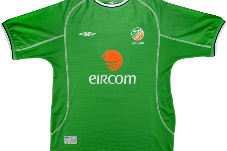 da773d695 Here s where you can get a retro Irish jersey now that they re the height  of fashion