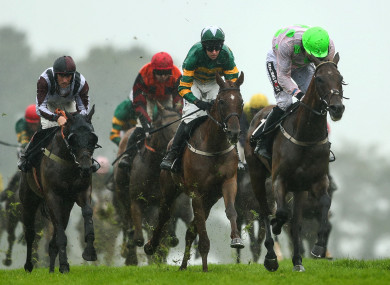 Sharjah and Patrick Mullins win by three lengths from Blazer.