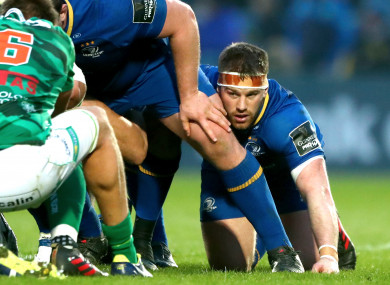 O'Brien last played during Leinster's home loss to Benetton.