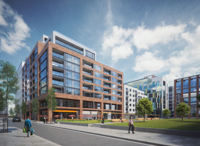 Dublin Docklands Apartment Block Goes On Sale For 52 5 Million