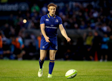 Marsh made 26 appearances for Leinster.