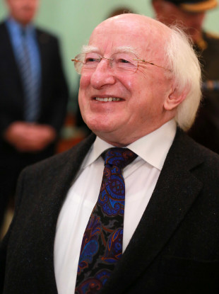 President Higgins will be pleased with today's poll.