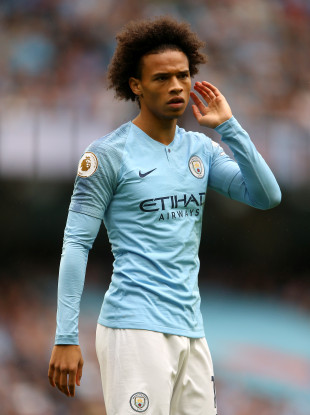Manchester City's Leroy Sane (file pic).