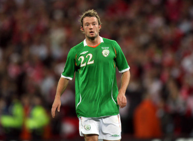 Noel Hunt has fond memories of his time playing for Ireland.