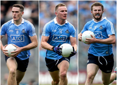 A trio of All-Ireland winners from the capital are in the running.