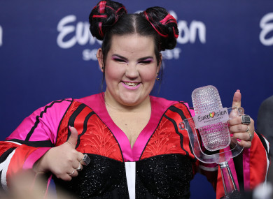 Netta, who won the contest for Israel this year.