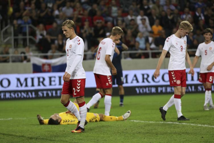 2018 Slovakia v Denmark football match