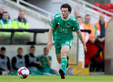 Cork's Barry McNamee (file pic).