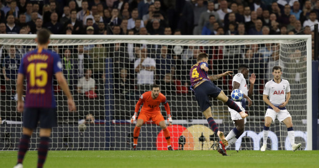 Perfect Rakitic strike and Messi magic ensures Barca beat Spurs