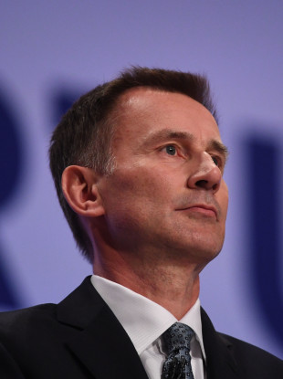 Jeremy Hunt, who has said that Russian intelligence service is responsible for a wave of cyber attacks across the globe.