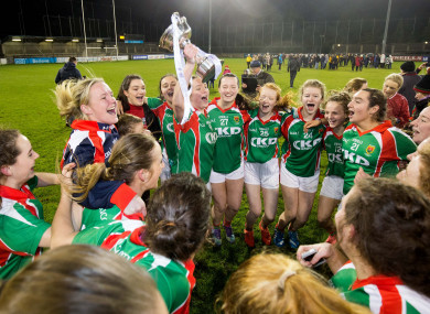 Carnacon lifted the All-Ireland title last December.