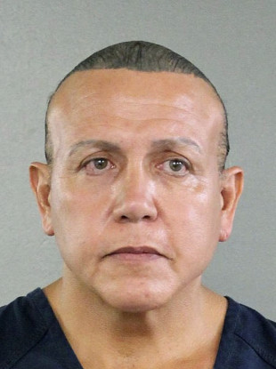 An undated photo Cesar Sayoc released by Broward County Sheriff's office.