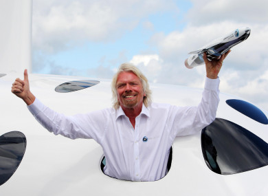 Richard Branson was speaking today to CNBC in Singapore. (File)