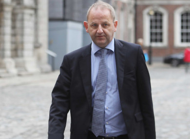 Maurice McCabe arrives at the Disclosures Tribunal.