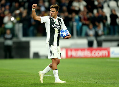 b98c2b24c Paulo Dybala hat-trick sees Ronaldo-less Juventus ease past Young Boys