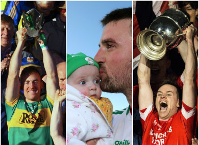 John O'Keeffe, Daryl Flynn and Damien Coleman won county titles over the weekend.