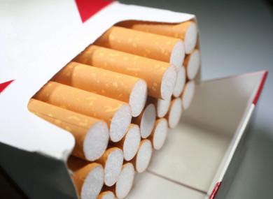 File photo of cigarettes