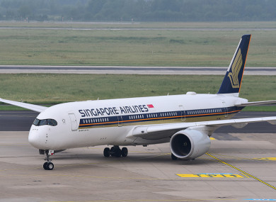 File photo - Singapore Airlines Airbus A350-900