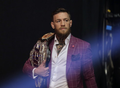 Conor McGregor returns this weekend at UFC 229.