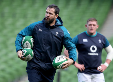 Andy Farrell will succeed Joe Schmidt as Ireland's head coach after the 2019 RWC.