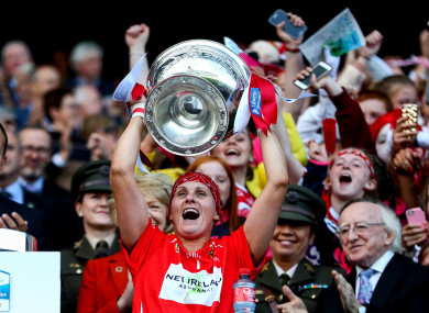 Cork were crowned All-Ireland champions in September.
