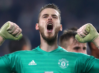 De Gea is one of the best goalkeepers in the world.