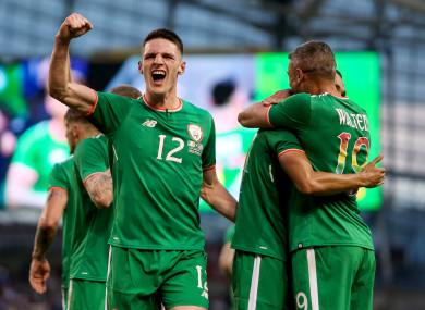 Rice: three senior Ireland caps.