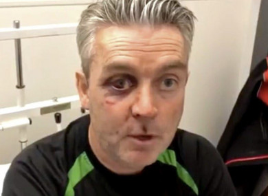 Referee Daniel Sweeney was attacked after a match in Horseleap.