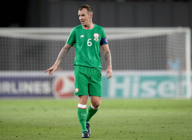 Glenn Whelan is set to earn his 85th and final Ireland cap against the North tonight.