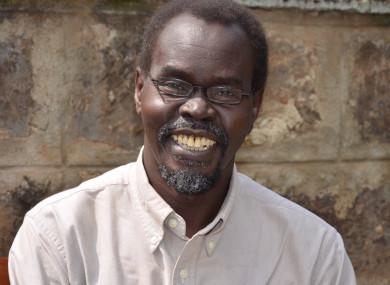 Father Victor-Luke Odhiambo had studied in Dublin