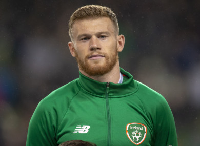 Ireland international James McClean.