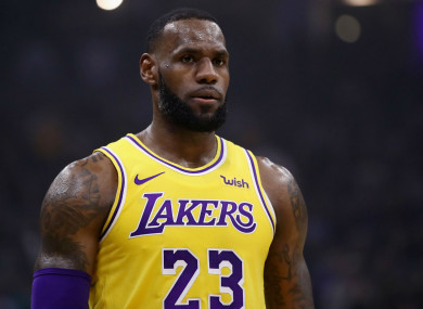 0c6e85bf2d3 LeBron scores season-high 51 points in Lakers  win over old side Miami
