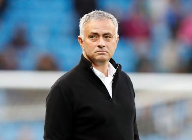 United manager bemoaned Paul Pogba's absence.
