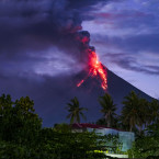 Mayon is the most active volcano in the Philippines. <span class=