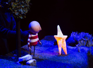 A production shot of Branar's How To Catch A Star.